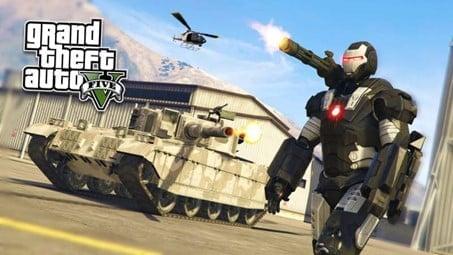 GTA 5 Modded Account PS4